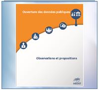MEDEF : ouverture des données publiques