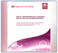 Capgemini - Digital transformation: a roadmap for billion-dollar organizations - 2011