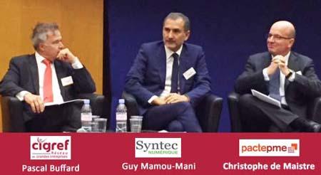 Presidents-cigref-syntec-pactepme