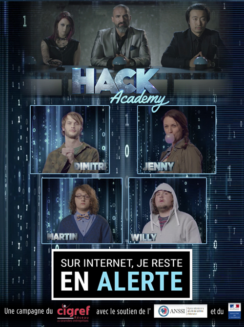 Hack Academy, cyber campaign CIGREF