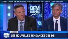 BFM Business du 07-10-2017-JC-LALANNE-P-COURQUEUX-Nouvelles tendances des DSI