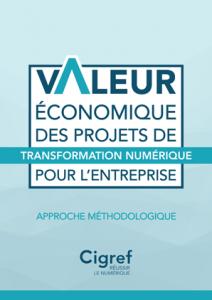 Rapport Valeur économique des projets de transformation numérique pour l'entreprise - Couverture