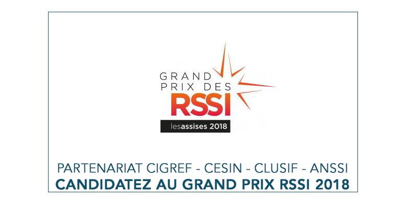 logo Grand Prix RSSI 2018 | Partenariat Cigref