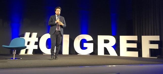 Mounir Mahjoubi à l'AG publique du Cigref