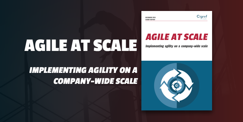 [Cigref report] Agile at scale: Implementing agility on a company-wide scale