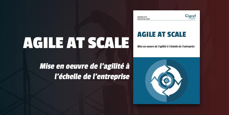 [Publication] Agile at scale : Mise en oeuvre de l'agilité à l'échelle de l'entreprise