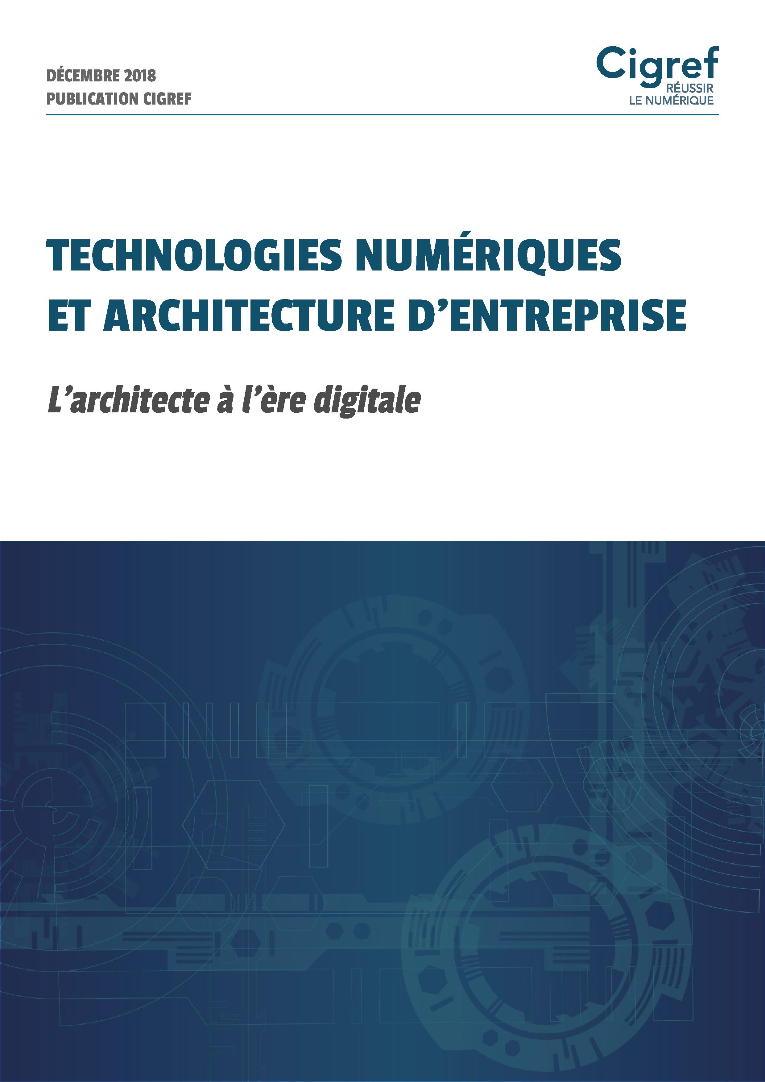 Technologies numériques et architecture d'entreprise : L'architecte à l'ère digitale