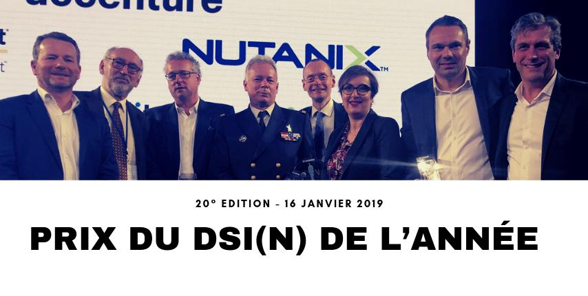DSI(N) 2019 : Lionel Chaine, DSI Services Courrier Colis du Groupe La Poste est DSI de l'année !