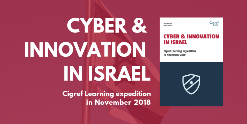 [Report] Cyber & Innovation in Israël