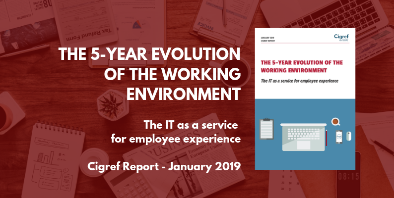 [Cigref Report] The 5-year evolution of the working environment