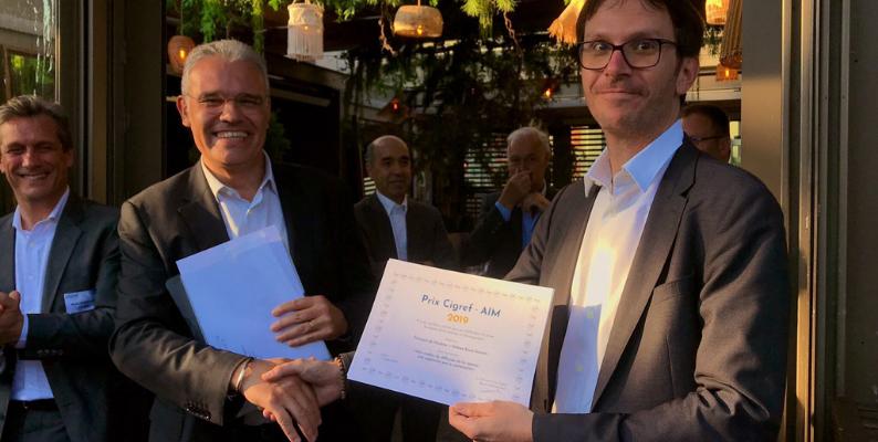 Remise du Prix Cigref-Aim 2019