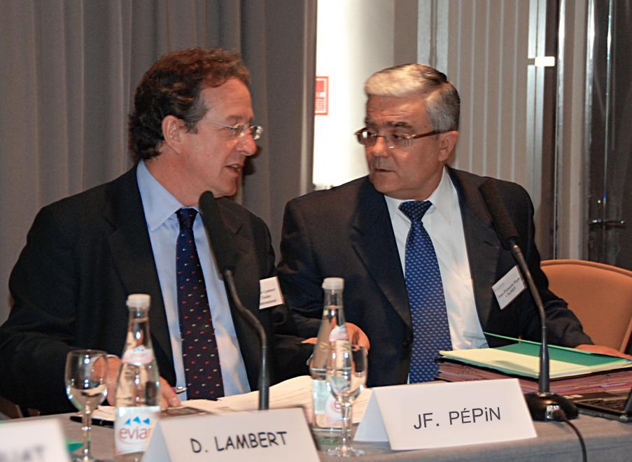 Le Cigref rend hommage à Didier Lambert, président du Cigref de 2006 à 2008