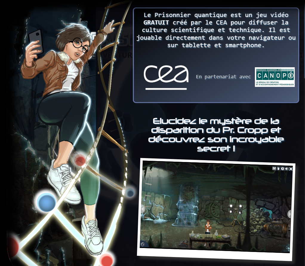 Prisonnier quantique - jeu vidéo gratuit