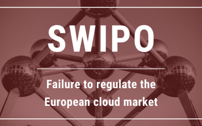 SWIPO: Failure to regulate the European cloud market