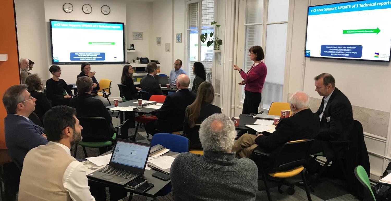 Travaux de l'équipe européenne autour du référentiel de compétences numériques