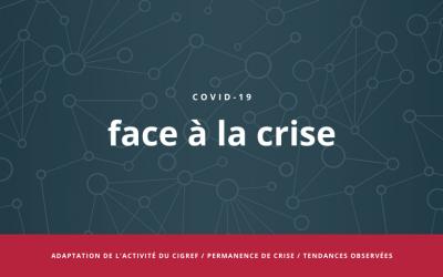 COVID-19 : face à la crise