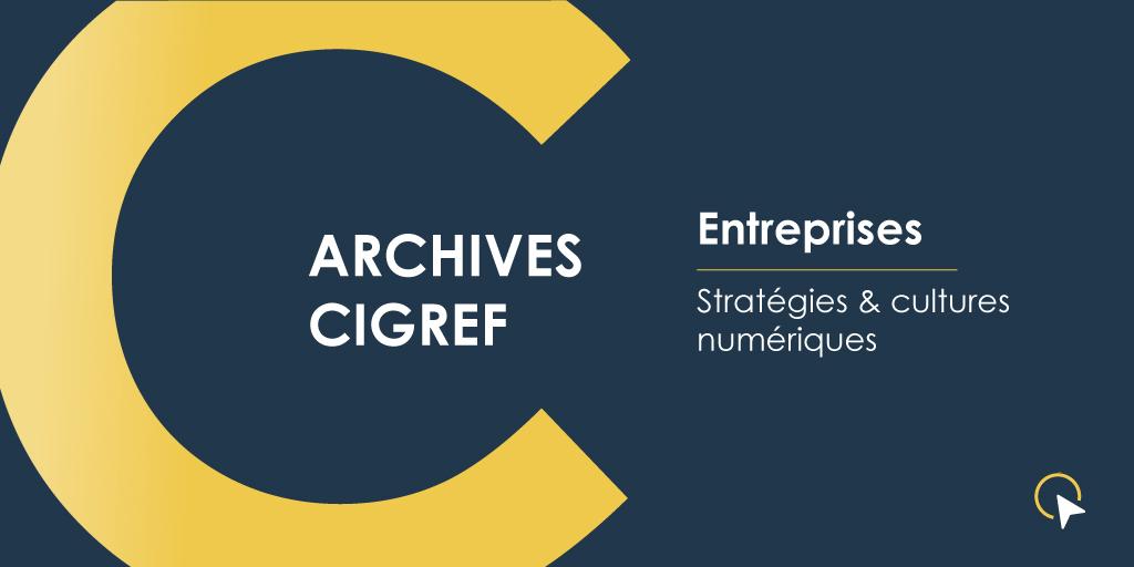 Archives Cigref - Stratégies & cultures numériques
