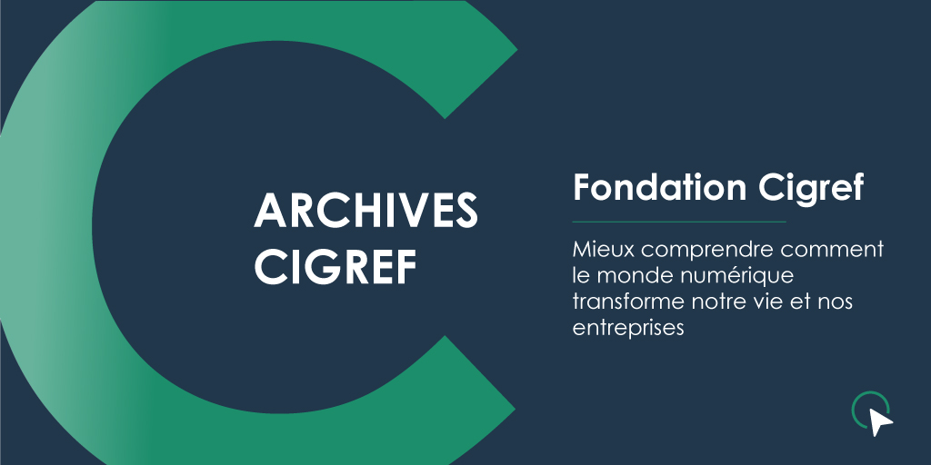 Archives Cigref - Fondation cigref