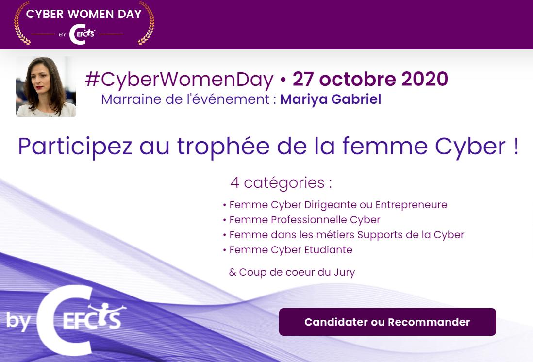 Trophée Cyber Women Day