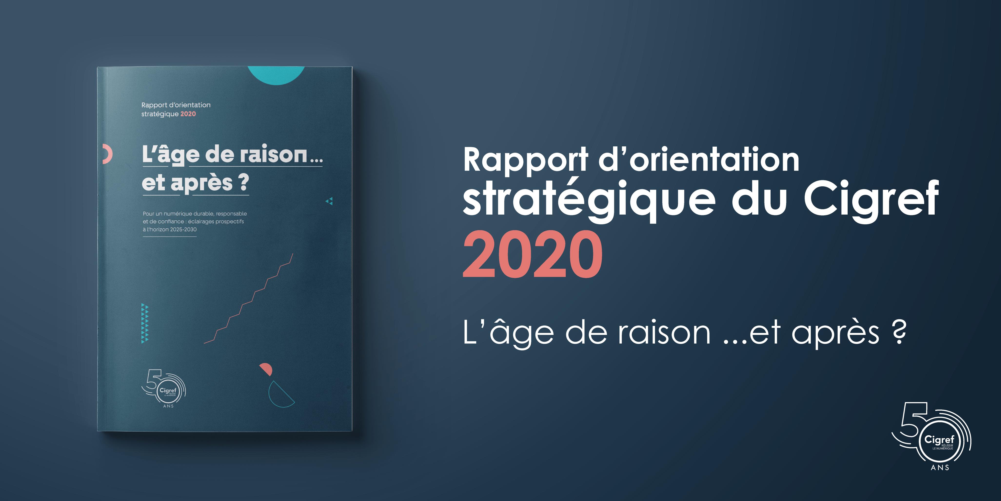 Rapport d'orientation stratégique du Cigref