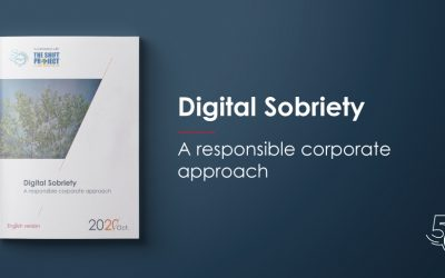 Digital Sobriety : A responsible corporate approach