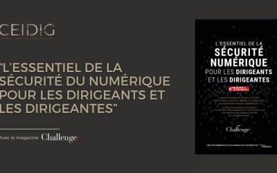 """Le CEIDIG publie la deuxième édition du guide """"L'Essentiel de la sécurité numérique pour les dirigeants et les dirigeantes"""""""