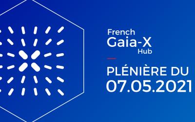 Deuxième session plénière pour le French Gaia-X Hub : vers la création de data spaces au niveau européen