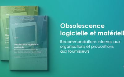 Obsolescence logicielle et matérielle : recommandations internes aux organisations et propositions aux fournisseurs