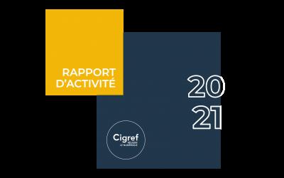 Le Cigref publie son rapport d'activité 2020/2021